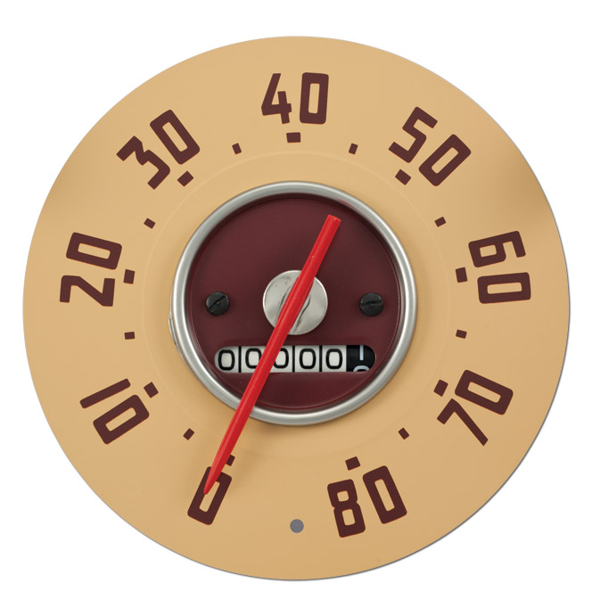 Speedometer HEAD ONLY- 80 Mph