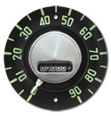 (1954)  Speedometer Chevrolet HEAD ONLY  - New
