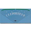 (1955-59)  Speedometer Face