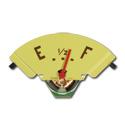 (1947-51) Fuel Gauge - GMC- w/ Red Needle - 6 Volt