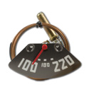 (1947-48) Temp Gauge - w/ Red Needle - 6 cyl