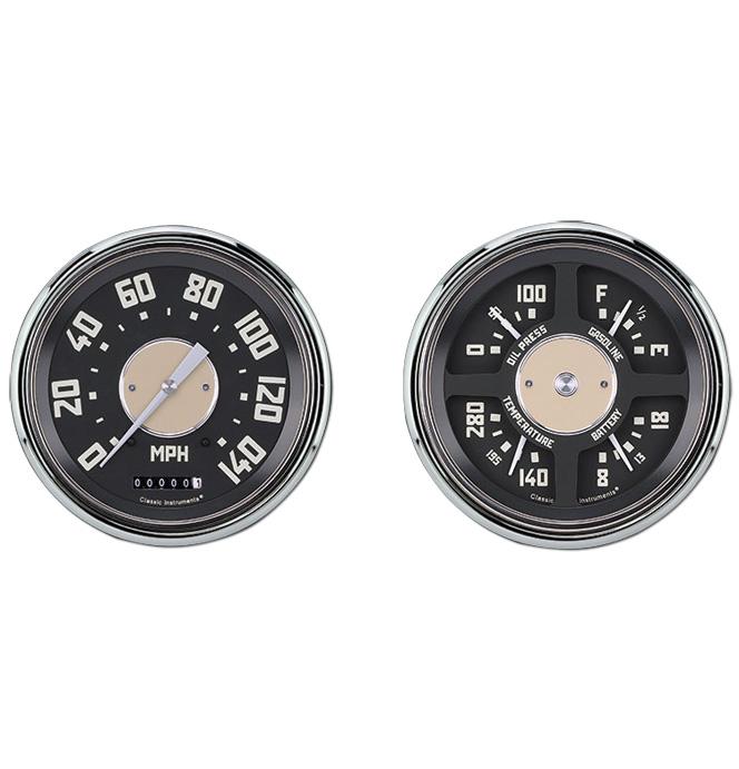 (1947-53) Speedo & Gauge Kit - OE Style