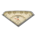 (1955-59)  Tach-Force Gauge Assembly - Tan