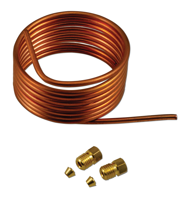 (1947-77)  Oil Pressure Gauge Line Kit - Copper