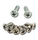 (1967-72)  Inside Visor Bracket Screw Set - 8pcs