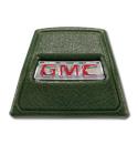 (1969-72)  Horn Button-GMC-Green