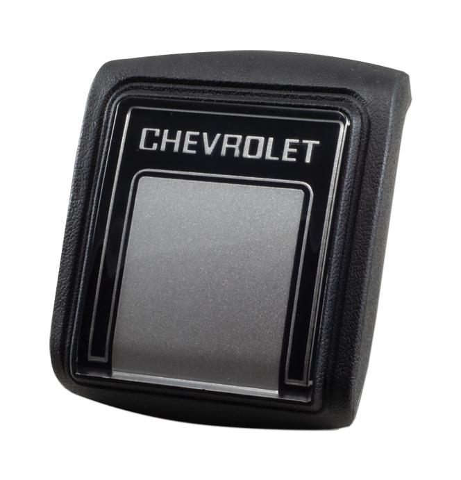 (1978-91)  Horn Button-Chevrolet-Custom Silver