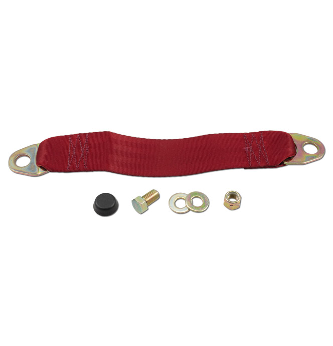 (1947-87)  Seat Belt Extender - Red