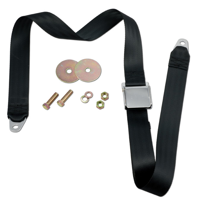 (1947-87)  Seat Belt - Black