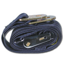 (1947-87)  Seat Belt - Aviation Buckle - Dark Blue