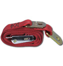 (1947-87)  Seat Belt - Aviation Buckle - Red