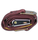 (1947-87)  Seat Belt - Aviation Buckle - Maroon