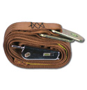 (1947-87)  Seat Belt - Aviation Buckle - Brown