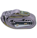 (1947-87)  Seat Belt - Aviation Buckle - Gray