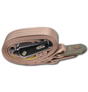 (1947-87)  Seat Belt - Aviation Buckle - Tan