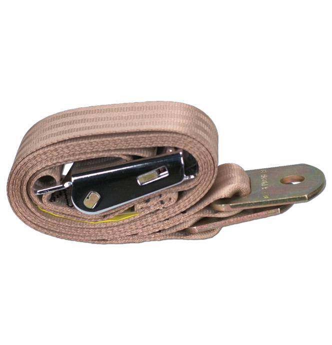 (1947-87)  Seat Belt - Tan