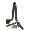 (47-59 and 67-87)  Shoulder / Lap Belt - Green