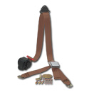 (47-59 and 67-87)  Shoulder / Lap Belt - Brown