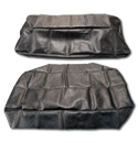 (1947-54)  Seat Cover Kit-Black