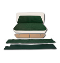 (1955-59)  Cameo Interior Kit-Green & Ivory