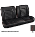 (1947-59) * Pro-Split Back Bench Seat - Sport - Black