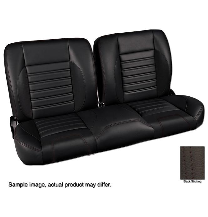 1960 87 Pro Split Back Bench Seat Sport Black