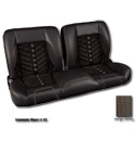 (1947-59) * Pro-Split Back Bench Seat - Sport-VXR - Black/Suede