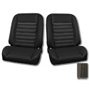 (1947-87) * Pro-Classic Low Back Bucket Seat - Sport - Black