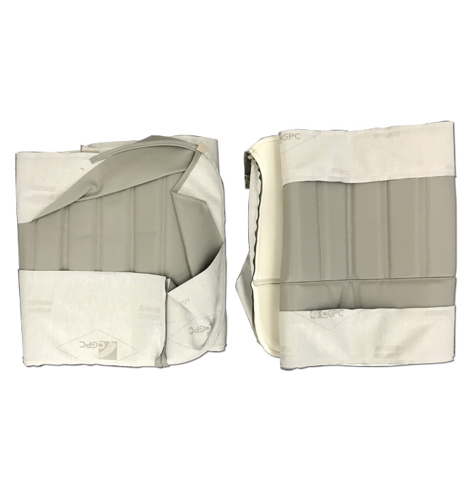 (1960-66)  Seat Kit-Vinyl-Med Grey