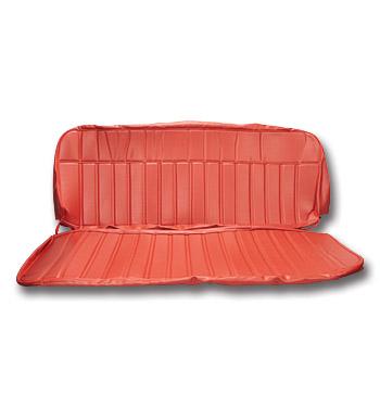 (1960-66)  Seat Kit - Vinyl - Red