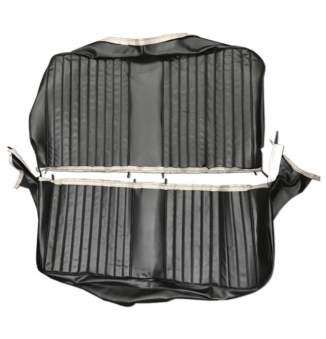 (1967-68) Seat Kit- Bench - Black