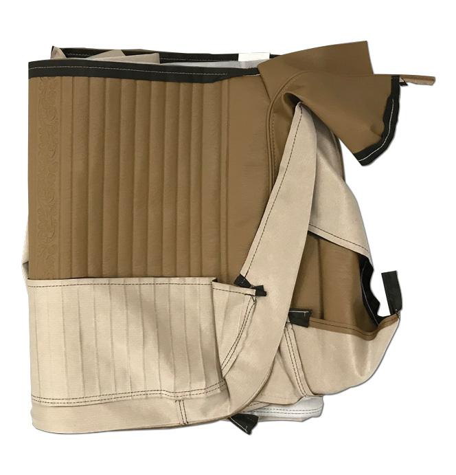 (1969-70)  Seat Kit-Bench w/Scroll, Light Saddle