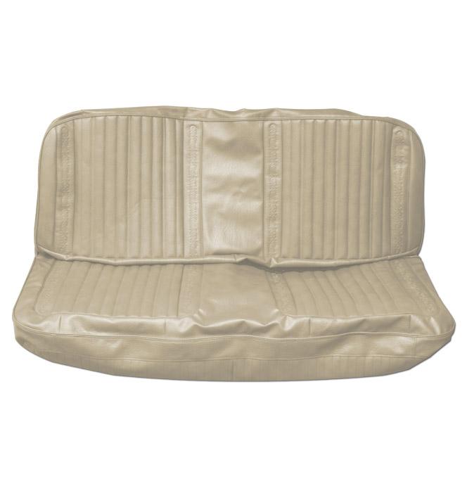 (1971-72)  Seat Kit-Bench w/Scroll, Off White