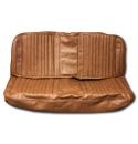 (1971-72)  Seat Kit-Bench w/Scroll, Dark Saddle