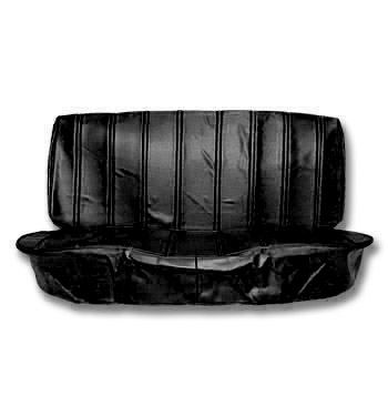 (1973-80)  Seat Cover Kit-Vinyl-Black-Bench Seat