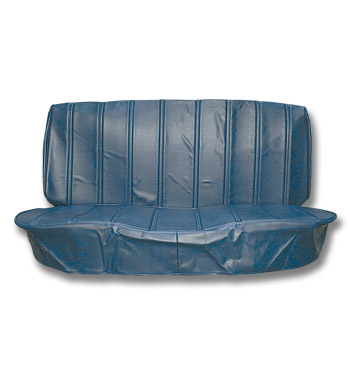 (1973-80)  Seat Cover Kit-Vinyl-Blue-Bench Seat