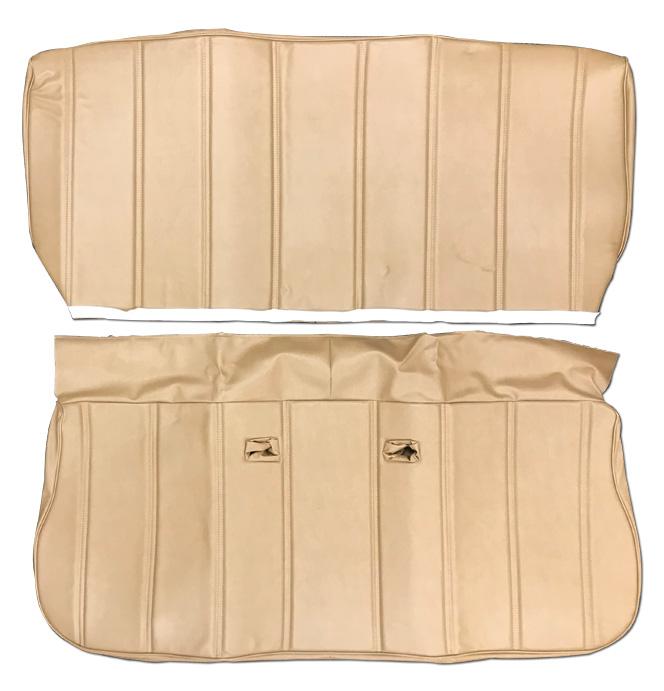 (1981-87)  Seat Cover Kit-Vinyl-Saddle-Bench Seat