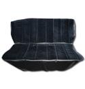 (1981-87)  Seat Cover Kit-Velour-Black-Bench Seat
