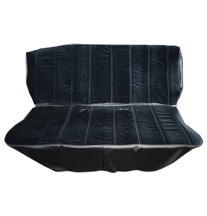 Seat Cover Kit Velour Black Classic Chevy Truck Parts