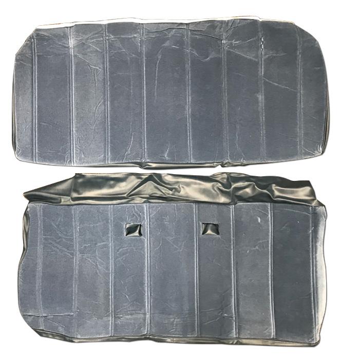 (1974-77)  Seat Cover Kit-Vinyl-Blue-Rear Bench Seat