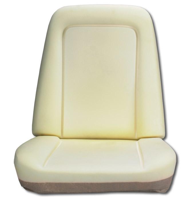 (1971-75)  Seat Foam-Bucket Seat