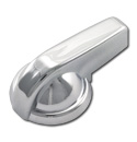 (1947-51)  Wiper Knob-Chrome