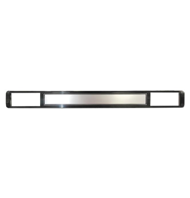 (1978-80)  Dash Panel Mldg-w/AC,w/Dlx-Aluminum W/O Holes
