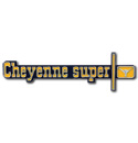 (1973-74)  Dash Panel Emblem-Cheyenne Super