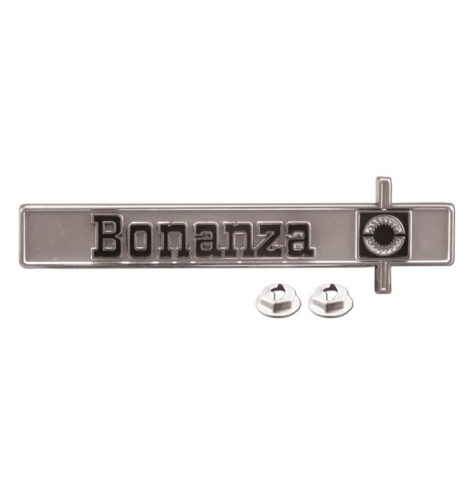 (1977-80)  Dash Panel Emblem-Bonanza