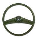 (1969-72)  Steering Wheel - Green - Original Size