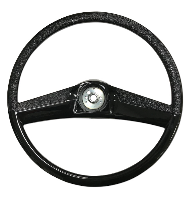 (1969-72)  Steering Wheel - Black - 15
