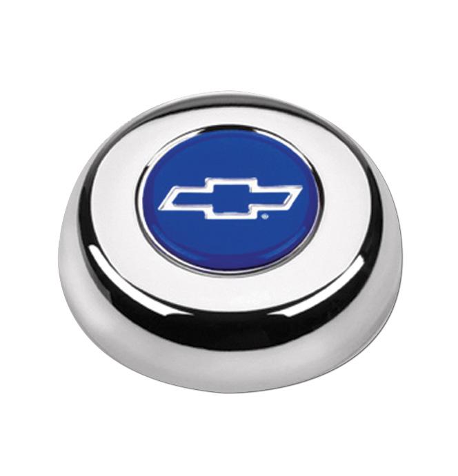 (1941-94)  Horn Button-Bowtie-Chrome