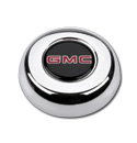 (1941-94)  Horn Button-GMC-Chrome