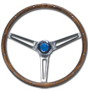 (1941-94)  Steering Wheel-Bowtie-Wood
